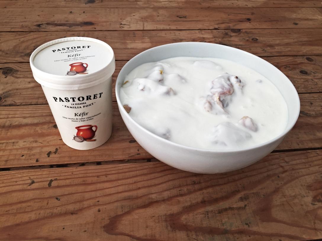 A falta de buttermilk bueno es el kéfir.